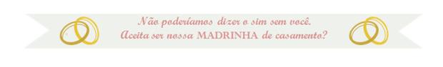 Convite para de Madrinhas2